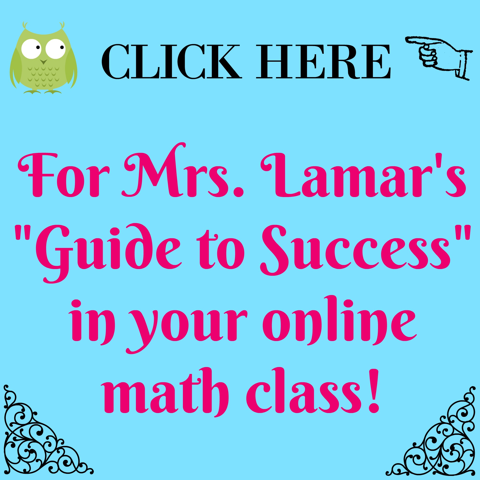 How to Succeed in Your Online Math Class | Tosha Lamar\'s Home Page
