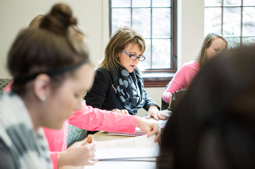 Ruggieri wrapped up her final semester as a full-time faculty member this spring.