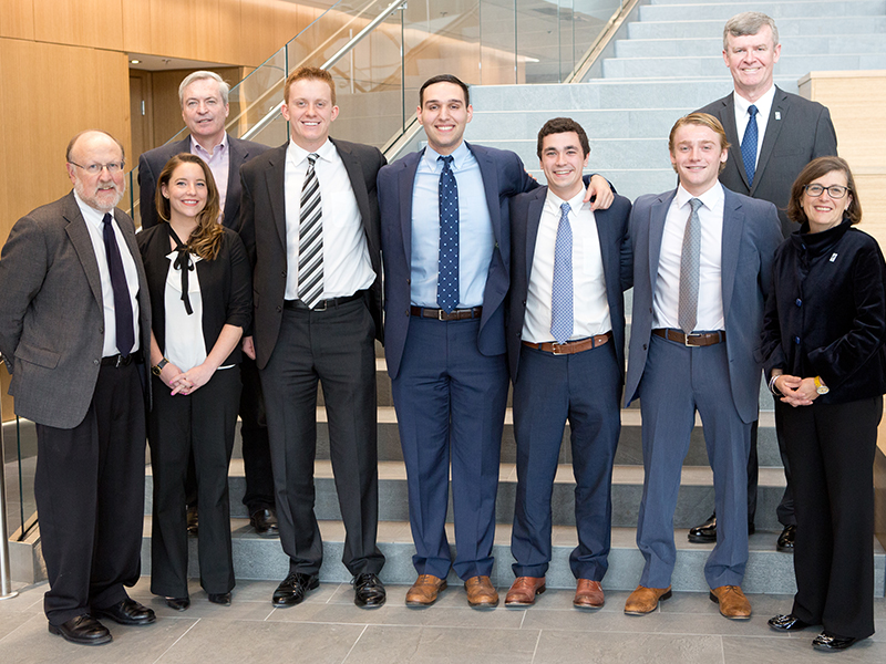 Michael Smith Ethics Case Competition Second-Place Team