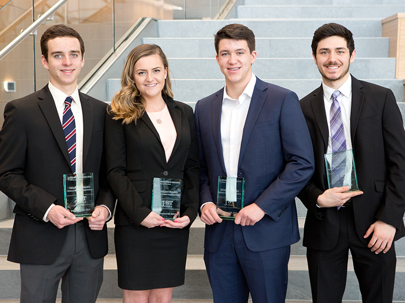 Michael Smith Ethics Case Competition First-Place Team