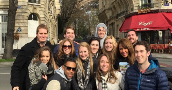 MBA Students in Paris