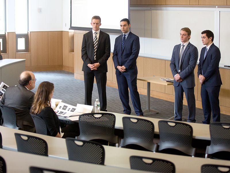 Michael Smith Ethics Case Competition Winners