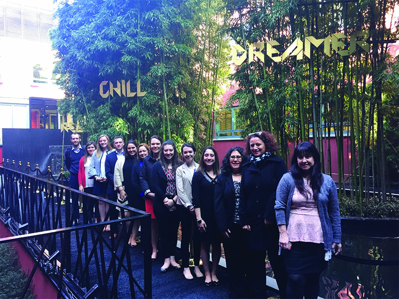 MBA students and faculty at Pomellato, a jewelry designer