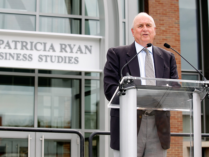 Ryan Center Dedication