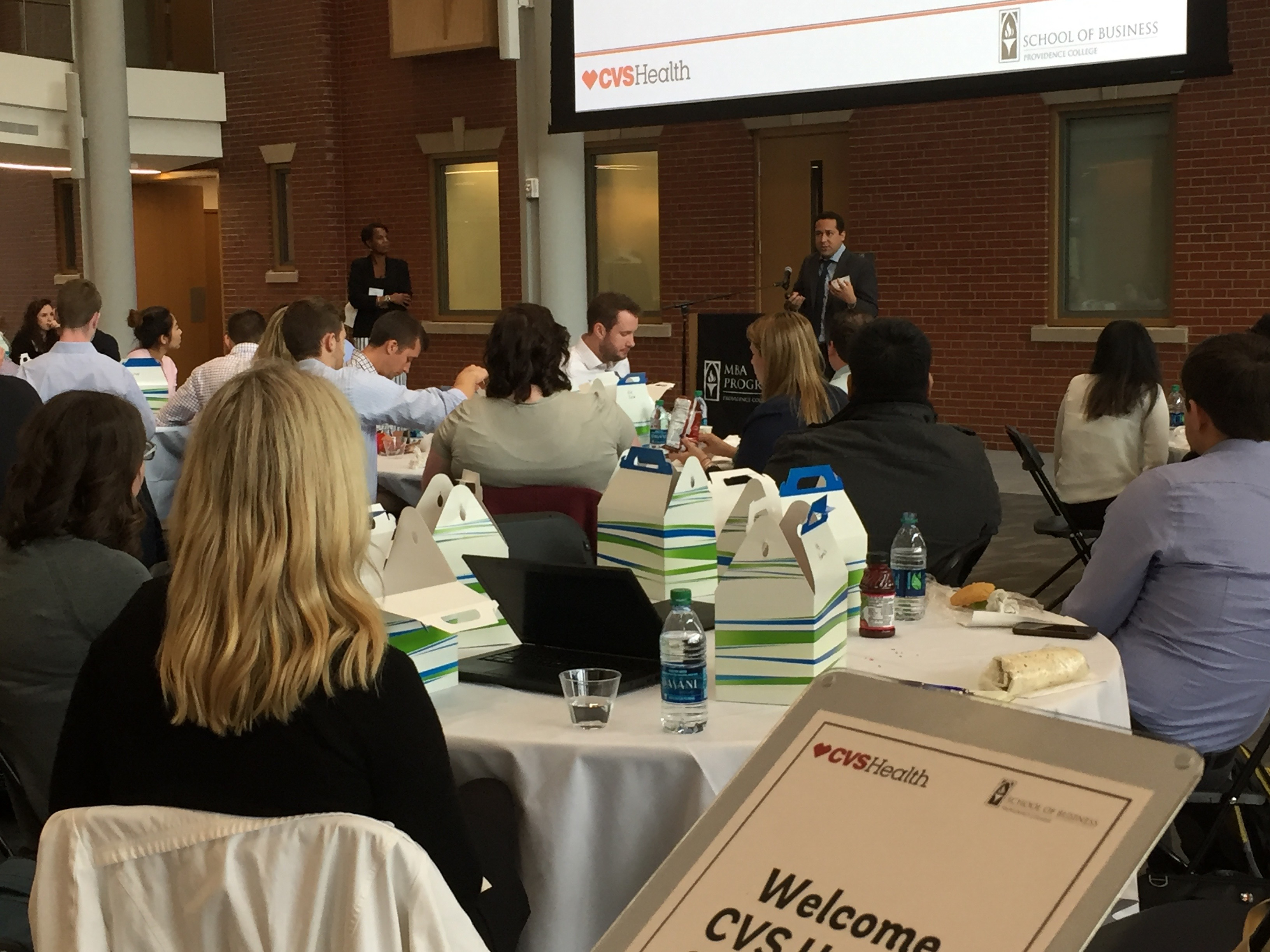 cvs health intern orientation presented by the pcsb  u2013 providence college school of business