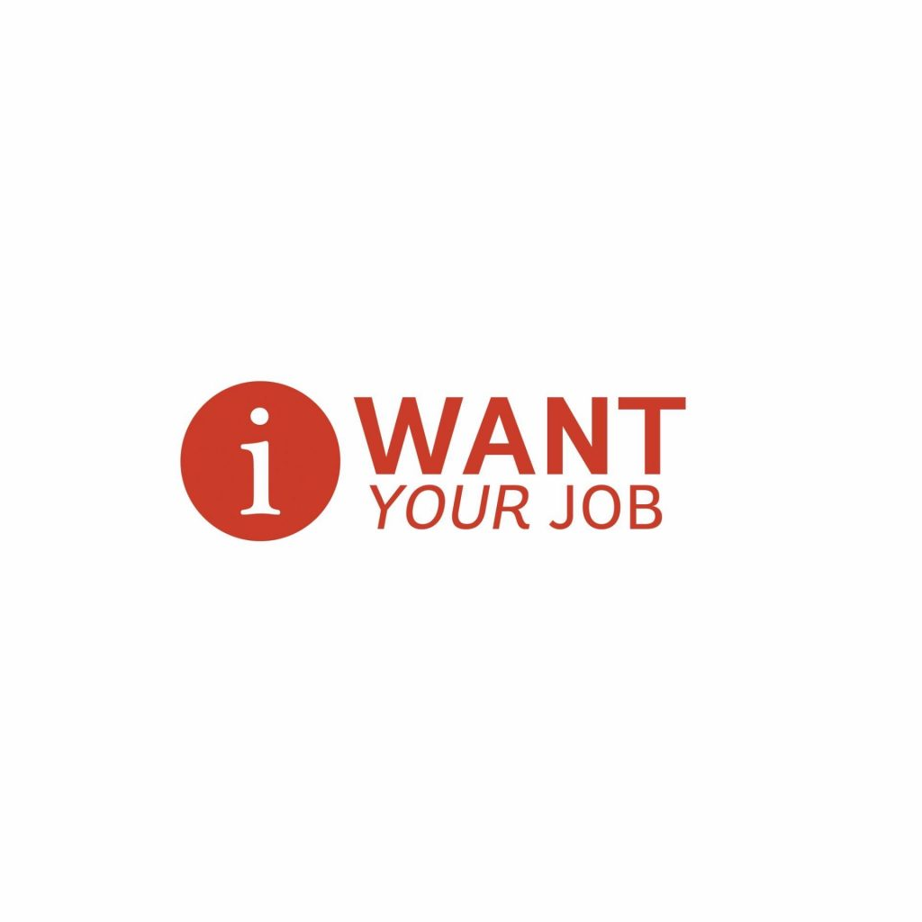 I Want Your Job Logo