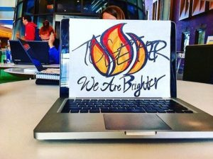 We are Brighter Together Logo