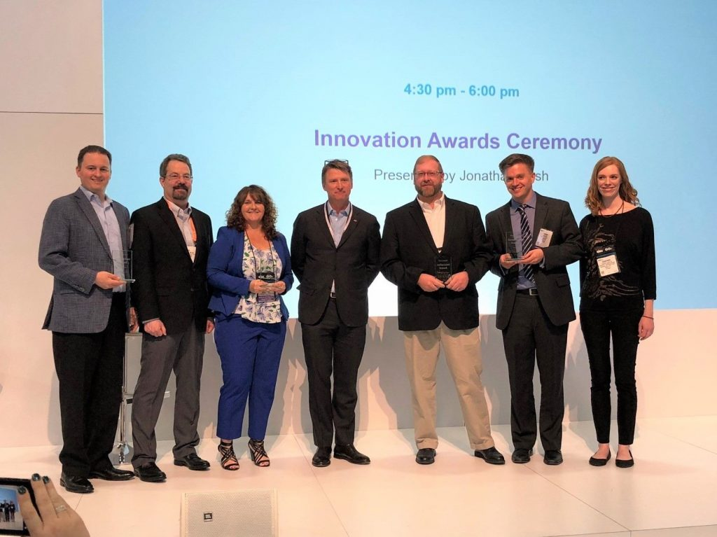 Competitors of Lauren's Innovation Awards Ceremony.