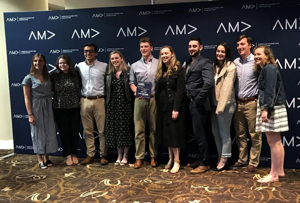 PC's AMA team with WSJ judges