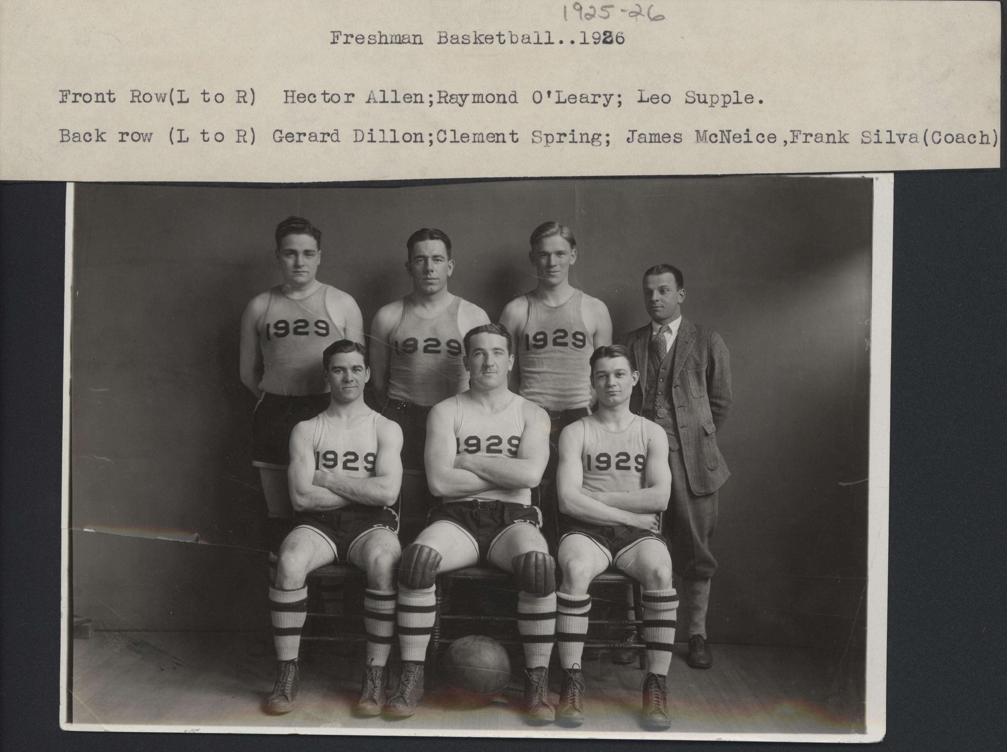 Providence College Basketball, 1921-1941