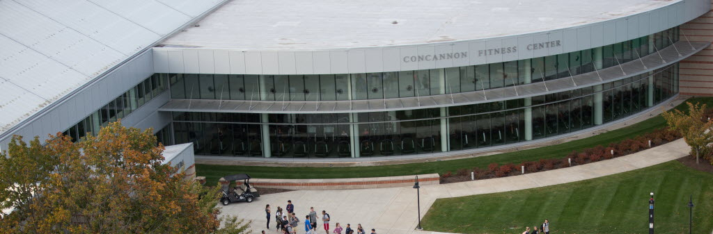 Concannon Fitness Center arial view