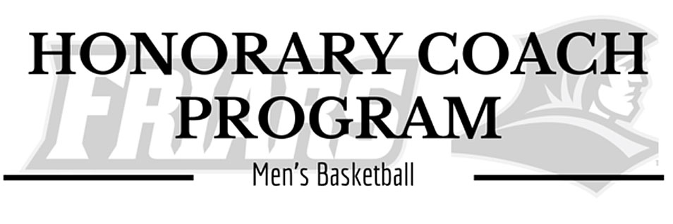 Honorary Coach Program for Men's Basketball