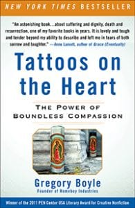 tattoos on the heart cover, common reading selection