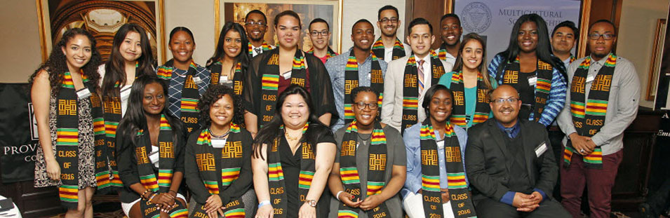 Multicultural Student Success Program group photo