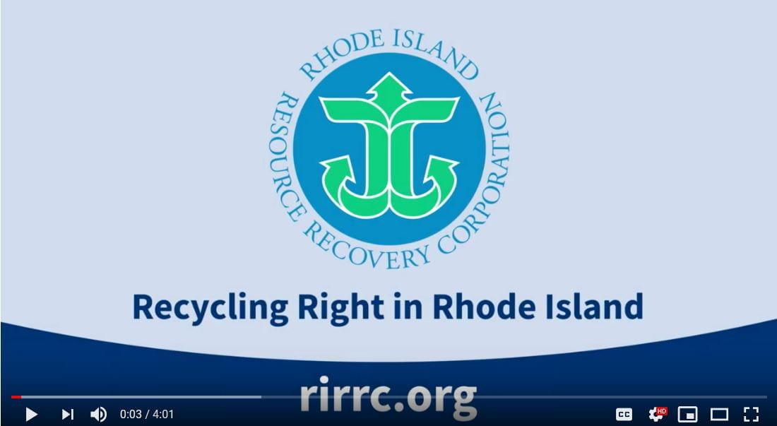 Recycling Right in Rhode Island