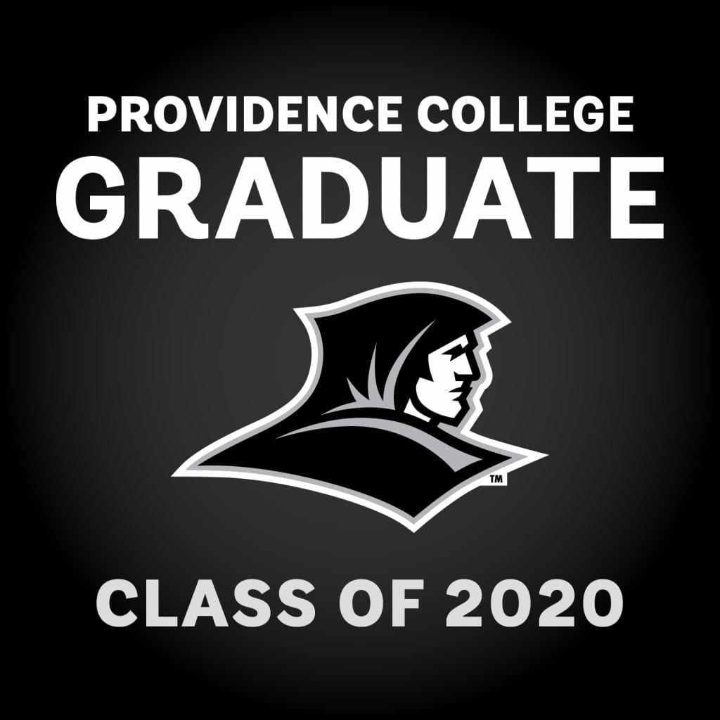 providence college graduate class of 2020 social media graphic