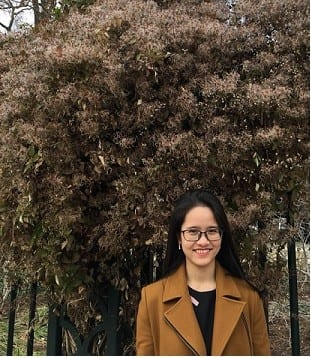 Photo of Huong Nguyen, international student
