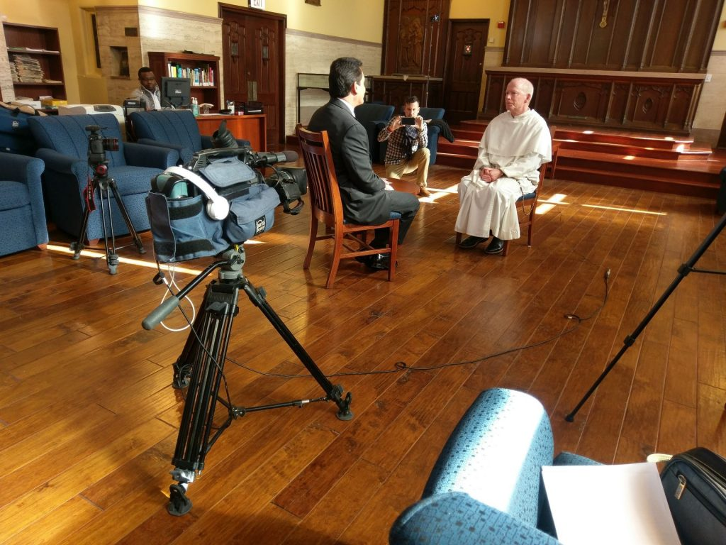 Fr. Shanley, president of Providence College, on WPRI