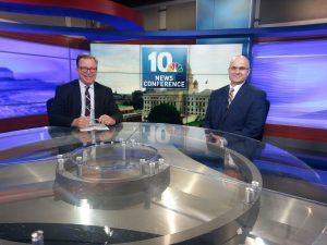 Brian Lamoureux, practitioner in management, at WJAR Channel 10