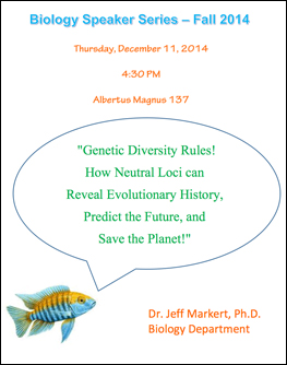 Jeff Markert Research Seminar