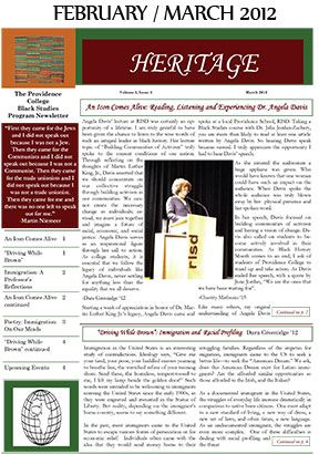 Heritage Newsletter February March 2012