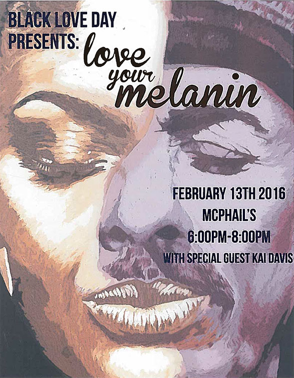 love your melanin flyer