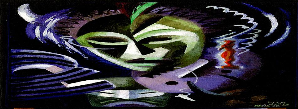 Painting of Mask