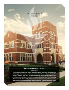 The Providence College Brand Standards Guidelines