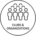 link to page with descriptions of student clubs and organizations