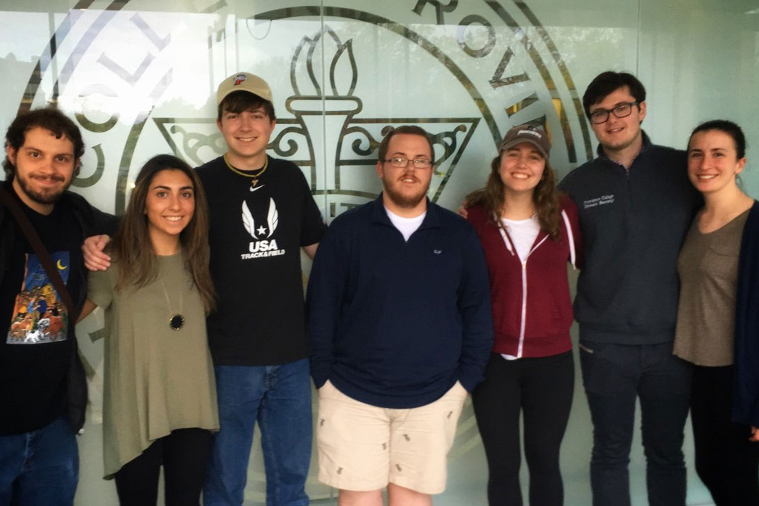 Pi Sigma Alpha, Epsilon Chi Chapter, 2017-18 Executive Board