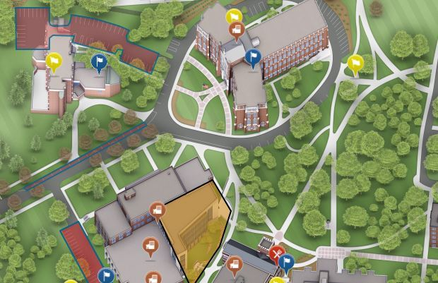 Image for Providence College Campus Map