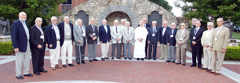 Alumni from the class of 1954
