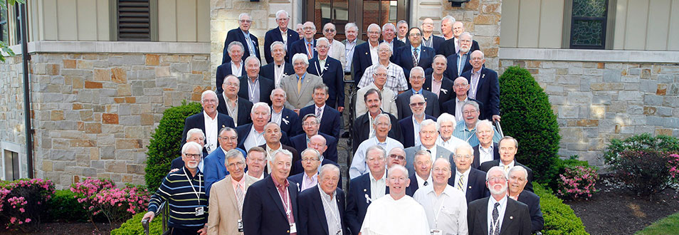 Class of 1964 Alumni with Father Shanley