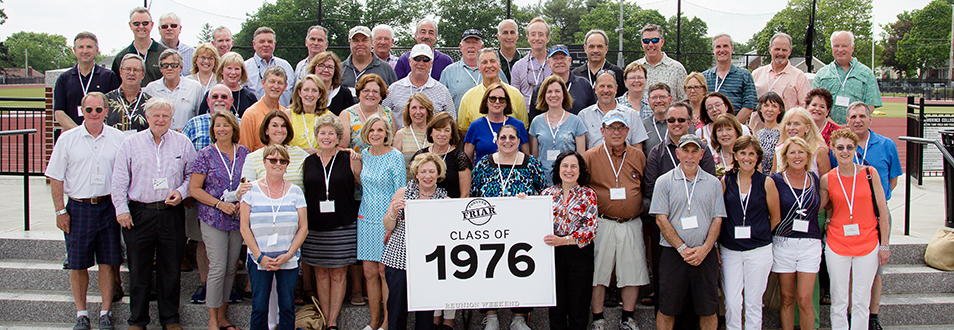 Alumni from the class of 1976