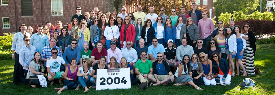 Class of 2004 Alumni group photo