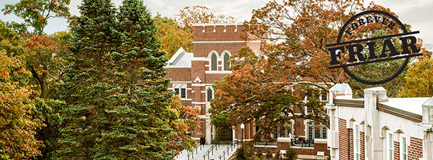 Fall view of campus, cover photo