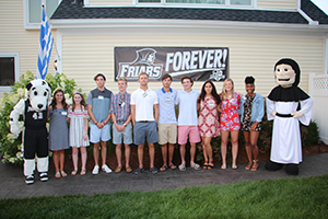 Members of the Class of 2021 at the Hartford Summer Reception