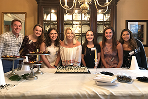 Members of the Class of 2021 at the Philadelphia Summer Reception