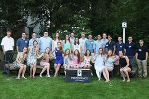 Members of the Class of 2021 at the New Jersey Summer Reception