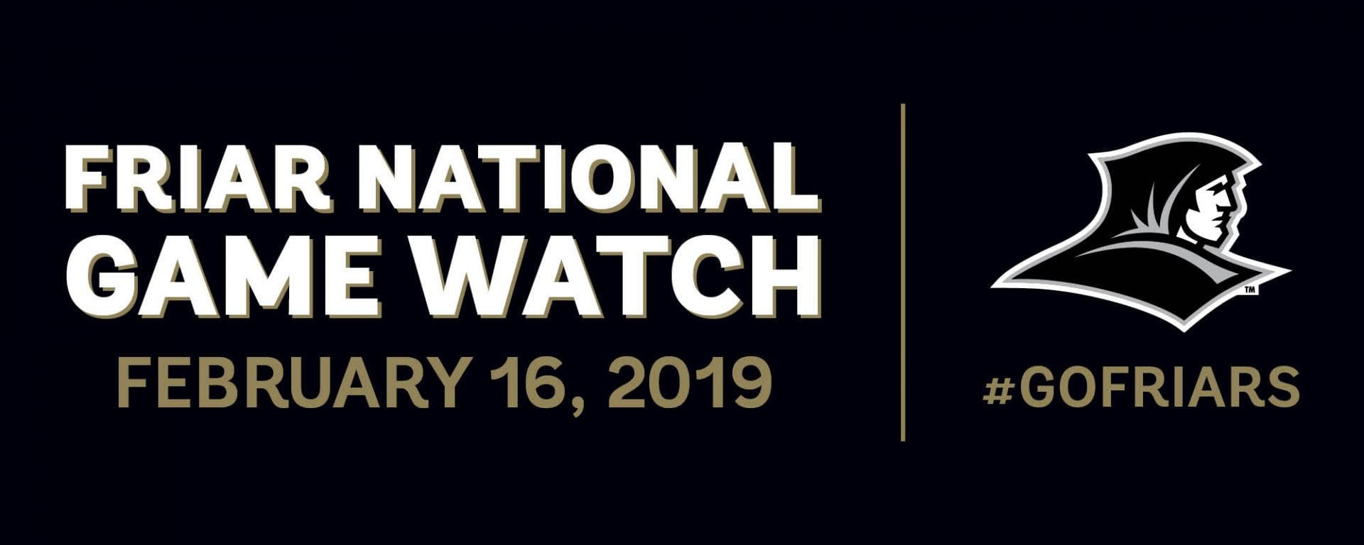 friar national game watch - feb. 16, 2019