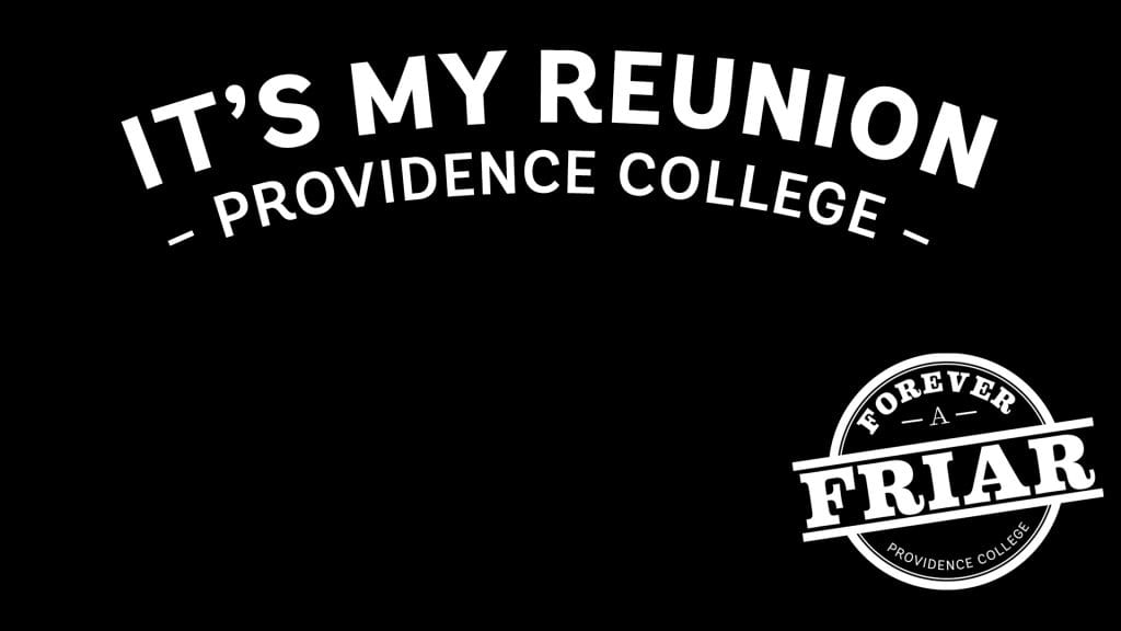 it's my reunion zoom background graphic