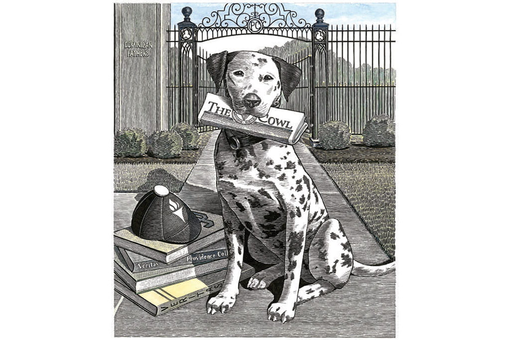 providence college traditions dog image