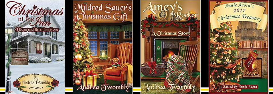 Andrea Twombly School of Continuing Education Graduate and has become a published author of three Christmas stories