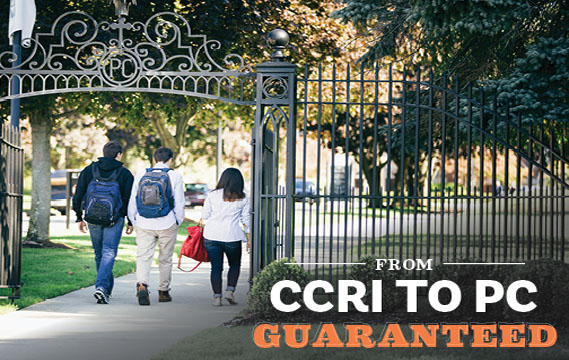 The Guaranteed Admission and Tuition Agreement between CCRI and the Providence College School of Continuing Education