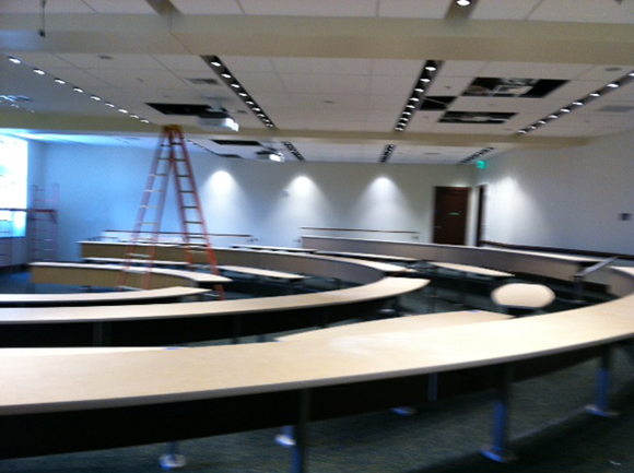 Ruane, 120 seat lecture hall