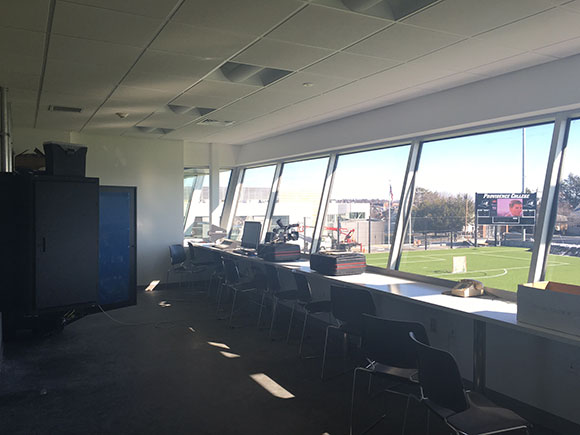 Anderson press box