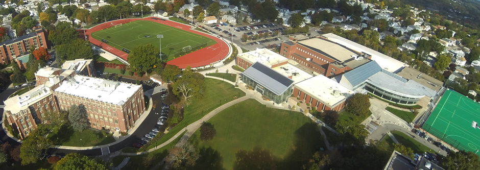 Aerial of Campus Green