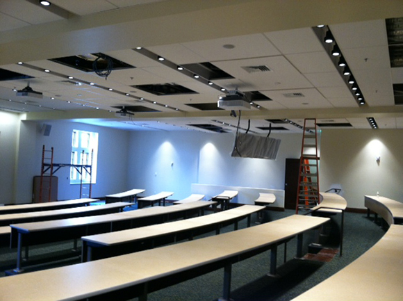 Ruane, lecture room on the second floor