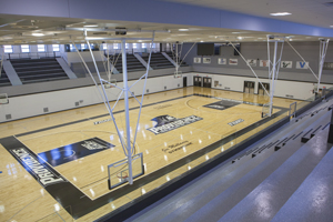 Mullaney gym renovation September 2012