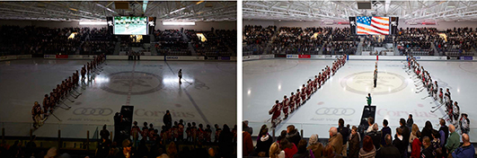 Schneider Arena in use